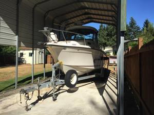 Used Seaswirl 2101 Walkaround I/O Cuddy Cabin Boat For Sale