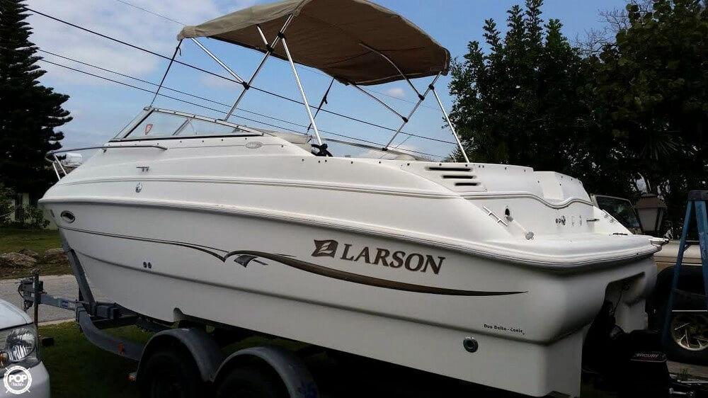 Used Larson Cabrio 220 Cruiser Boat For Sale