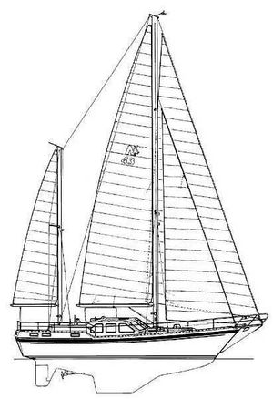 Used Nauticat Sparkman And Stephens 43 Cruiser Sailboat For Sale