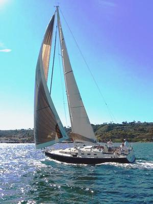 Used Blue Jacket 40 Racer and Cruiser Sailboat For Sale