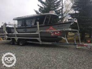 Used Custom 30 CABIN CRUSER Aluminum Fishing Boat For Sale