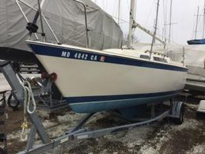 Used O'day 23 Cruiser Sailboat For Sale