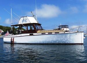 Used Classic Downeast Fishing Boat For Sale