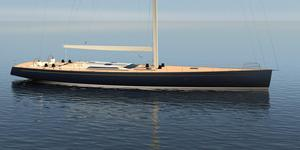 New Front Street Shipyard 102' Performance Sloop Racer and Cruiser Sailboat For Sale