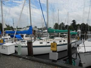 Used Endeavour 32 Sloop W Stack-pack Main Cruiser Sailboat For Sale