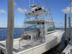 Used Topaz 37 Sportfisherman W Cat 375's Commercial Boat For Sale