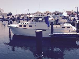 Used Albin 27 Family Cruiser W 2-3 GPH Cruiser Boat For Sale