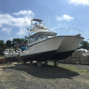Used Benchmark 36 EXP. CAT. SF W 105 HRS. Power Catamaran Boat For Sale