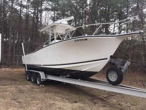 Used Albemarle 262 CC W Outboards W Trailer Center Console Fishing Boat For Sale