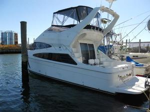 Used Carver 38 IPS Super Sport Convertible Fishing Boat For Sale