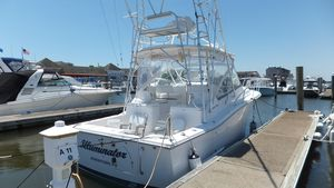 Used Luhrs 31 Open W 380 Yanmar W 590 HR Express Cruiser Boat For Sale