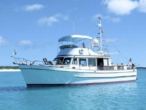 Used Marine Trader Classic Trawler Boat For Sale