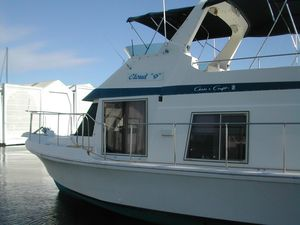 Used Chris-Craft 450 Yacht Home House Boat For Sale