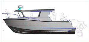 New Xtaero Xt28dv Twin OB Long Cab Sports Fishing Boat For Sale
