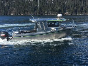 New Xtaero Xt24dv Long Cabin Twin OB Pilothouse Boat For Sale