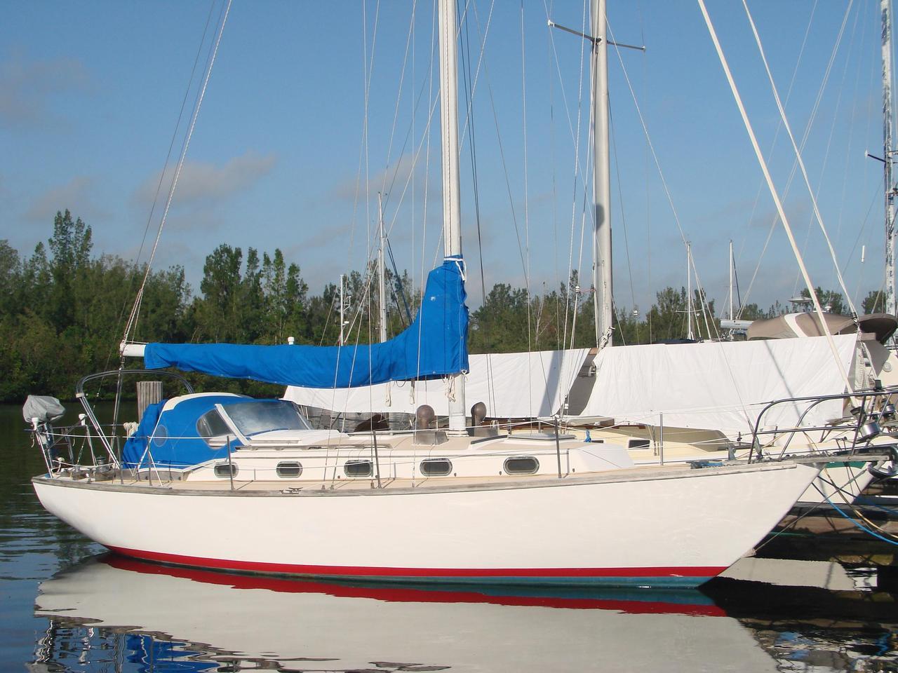 1981 Used Cape Dory 36 Cutter Sailboat For Sale - $64,900