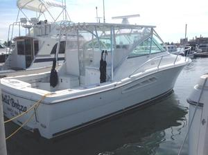 Used Rampage 34 Express IPS Center Console Fishing Boat For Sale