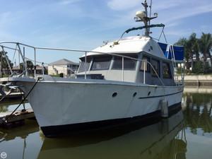 Used Alexandra Steel 34 Trawler Boat For Sale