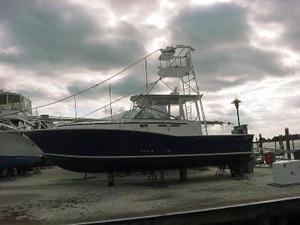 Used Atlantic Sport Fisherman Express Cruiser Boat For Sale