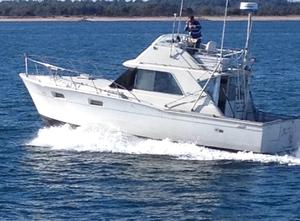 Used Chris-Craft 35 Commander SF Convertible Fishing Boat For Sale