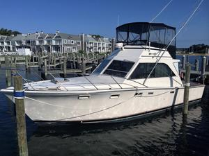 Used Pacemaker 36 SF Convertible Fishing Boat For Sale