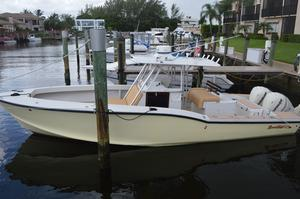 Used Ocean Master 31 CC 2013 Evinrude 300 ETEC Center Console Fishing Boat For Sale