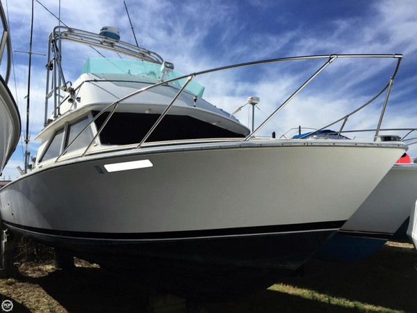 Used Bertram 28 Sportfisherman Sports Fishing Boat For Sale