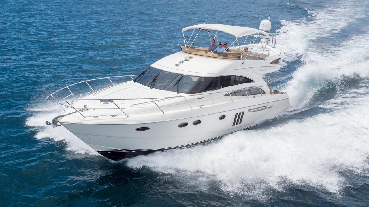 2008 used princess 58 flybridge motor yacht for sale for Palm beach motor yachts for sale