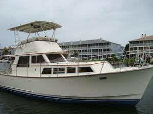 Used Roughwater 37 Flybridge Boat For Sale