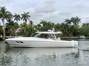 Used Intrepid 407 Cuddy Cruiser Boat For Sale