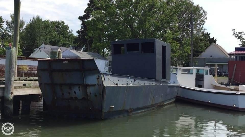 1967 Used United Boat Builders 36 Supply Ship Boat For Sale