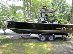 Used Downeaster 25 River Hunter Center Console Fishing Boat For Sale