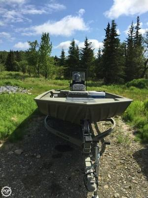 Used Tracker Grizzly 22 Aluminum Fishing Boat For Sale