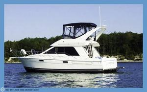 Used Bayliner 3388 Motor Yacht Express Cruiser Boat For Sale
