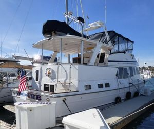 Used Voyager 50 Aft Cabin Yachtfisher Aft Cabin Boat For Sale