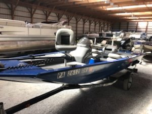 Used Alumacraft PF170 Sports Fishing Boat For Sale