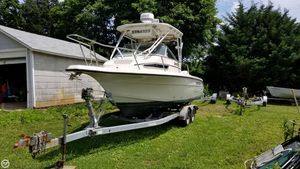 Used Stratos 2450 WA Walkaround Fishing Boat For Sale