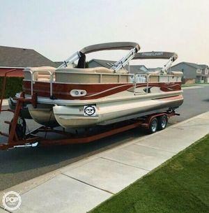 Used Crestliner 2685 TRI Grand Cayman Pontoon Boat For Sale
