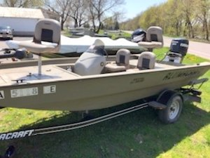 New Alumacraft MV 1756 AW SC Sports Fishing Boat For Sale