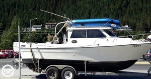 Used Skagit Orca 24 Pilothouse Boat For Sale