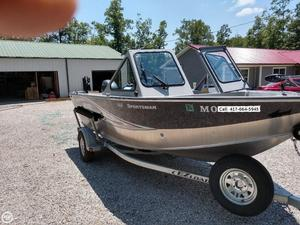 Used Hewescraft 160 Sportsman Aluminum Fishing Boat For Sale