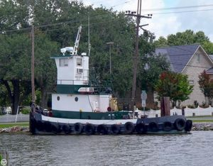 Used Aac Marine 41 Tug Boat For Sale