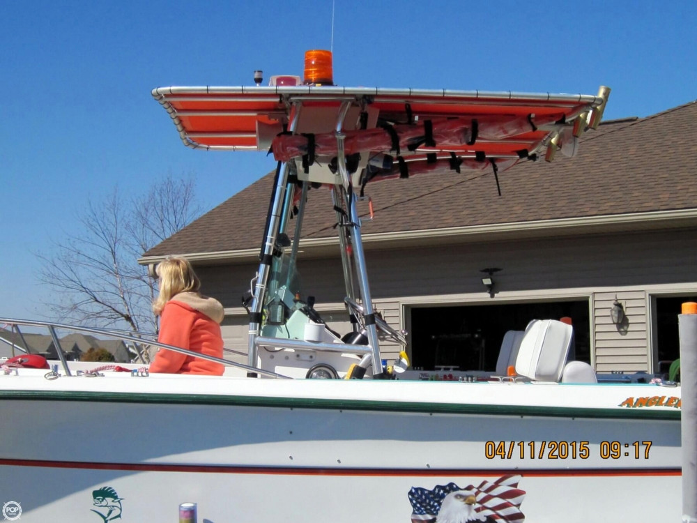1996 used angler 204 center console center console fishing for Used fishing boats for sale in wisconsin