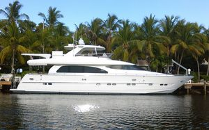 Used Horizon 76' Open Flybridge Boat For Sale
