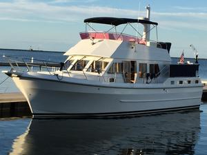 Used Symbol 42' Sun Deck Trawler Boat For Sale