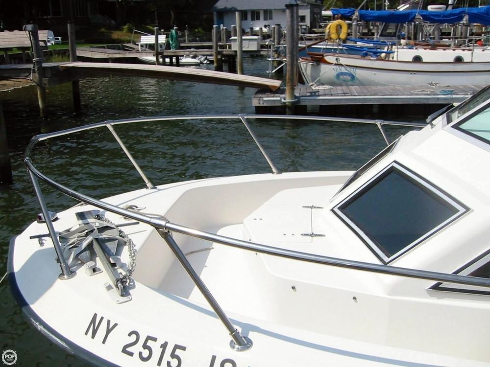 1987 used grady white 241 offshore walkaround fishing boat for Grady white fishing boats