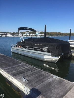 Used Sun Tracker 22 DLX XP3 Party Barge Pontoon Boat For Sale
