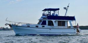 Used Marine Trader 38 Sedan Bridge Motor Yacht For Sale