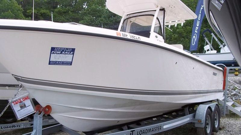 Used Pursuit Boats C 260 Saltwater Fishing Boat For Sale