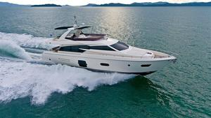 Used Ferretti Yachts 720 Flybridge Boat For Sale